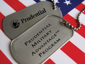 Prudential Military Advantage offered by Gary Harmon.