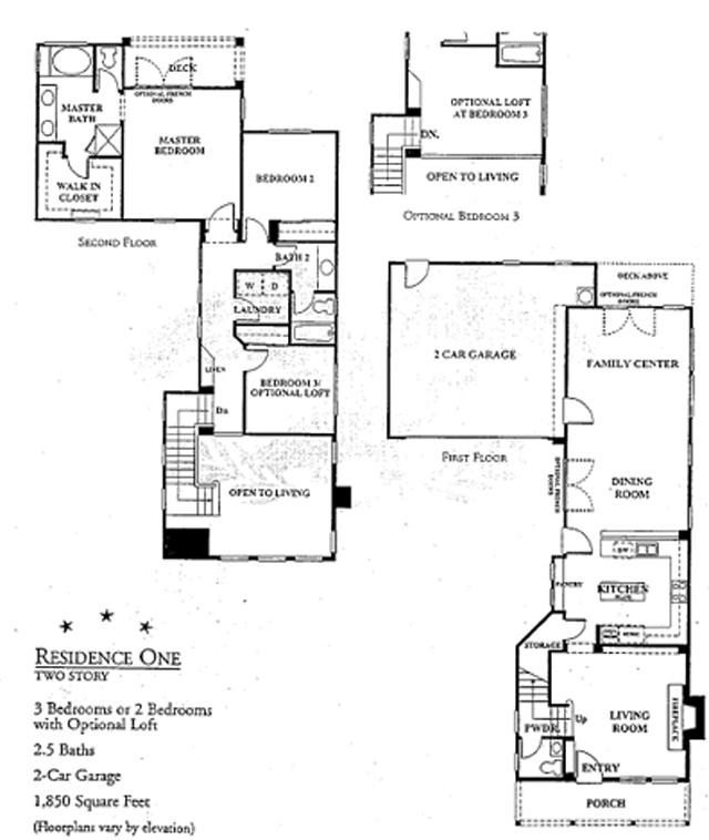 harbor beach colony floor plan 1 - Ocean View Homes Floor Plans