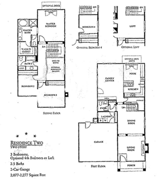 harbor beach colony floor plan 2 - Ocean View Homes Floor Plans