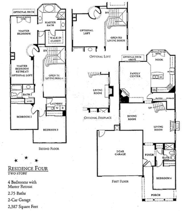 harbor beach colony floor plan 4 - Ocean View Homes Floor Plans