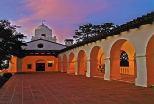 Presido Park and Museum in San Diego