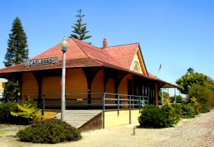 History Carlsbad Train Station