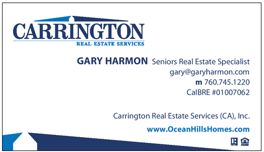 Business Card OceanHillsHomes.com